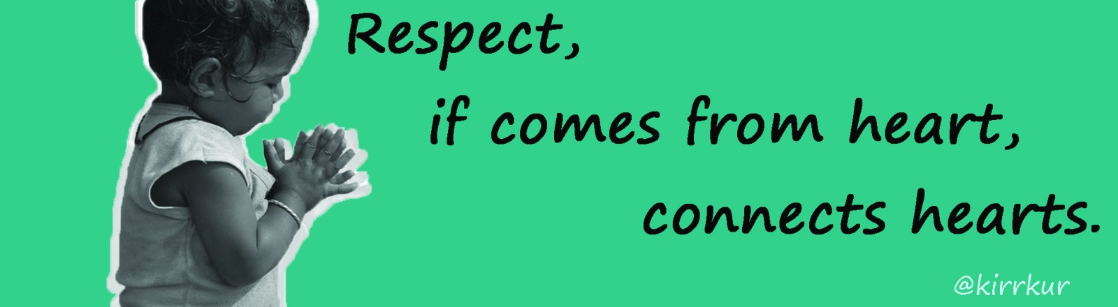 respect connects hearts