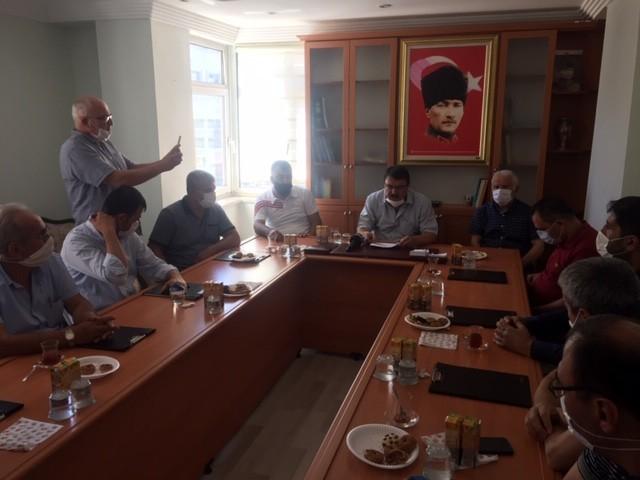 Kırşehir'de, kahvehaneciler sorunlarını anlattı