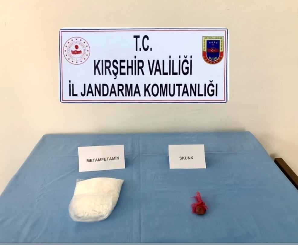 Kırşehir Jandarmadan uyuşturucu operasyonu