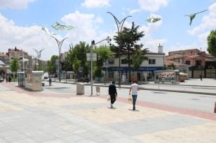 Kırşehir'de esnaf ve vatandaş kısıtlamalı son hafta sonu beklentisinde