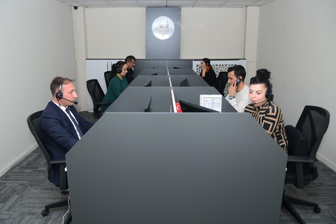 Kırşehir Belediyesi '153 çağrı merkezi' ile şehrin sorunlarına çözüm üretiyor