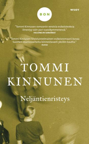 """""""Minä suosittelen Tommi Kinnusen Neljäntienristeystä (WSOY 2014), koska mies antaa naiselle kukkia ja nainen miehelle kirjan!"""" Pirjo"""