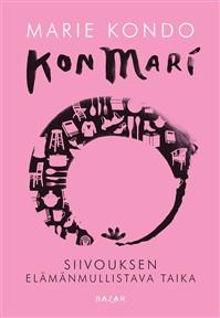 Kevätauringon valaistessa kaikki pölyhippuset ja kirjapinojen kasvaessa, tunnen, että siivousopas on ihan must! Marie Kondo on valittu maailman 100 vaikutusvalatisimman ihmisen joukkoon, joten tässä kirjassa täytyy olla sitä jotain!