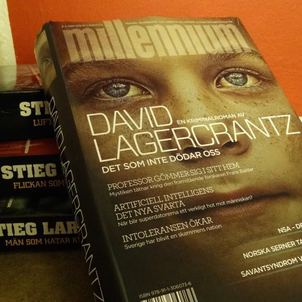 David Lagercrantzin Det som inte dödar oss jatkaa Stieg Larssonin Millenium-trilogiaa