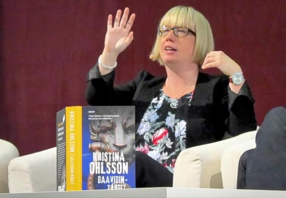 Kristina Ohlssonin uusin suomennettu teos on Daavidintähdet.