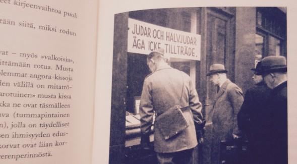 Kirjan kuvitusta