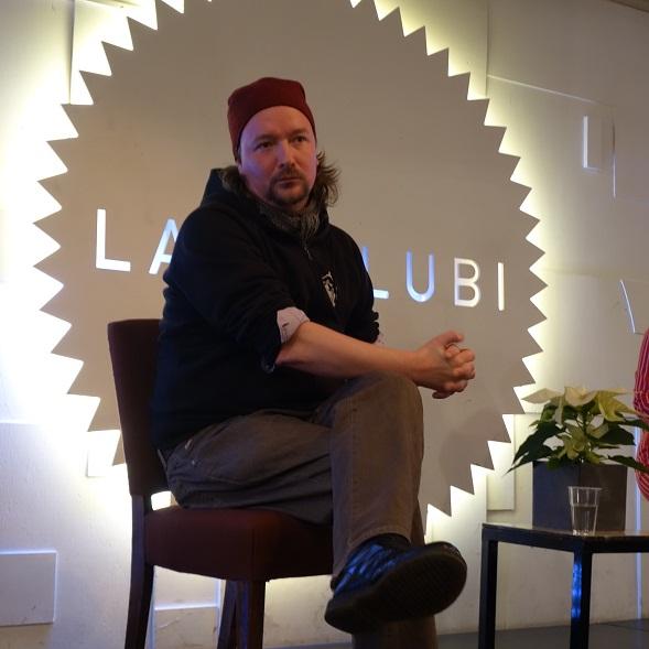 Paavo Westerberg kertoi marraskuussa Bloggariklubilla tulevasta näytelmästään.