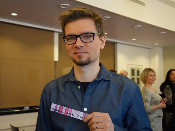 Antti Ritvanen ja Kirsin Book Clubin kirjanmerkki