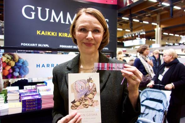 Sensein opissa Japanissa asunut Minna Eväsoja on kirjoittanut huikean kirjan Melkein geisha.