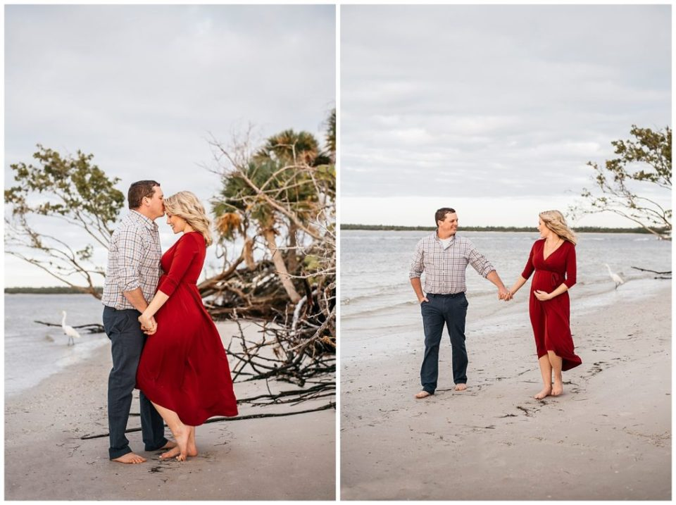 Maternity Photos in Fort Myers Florida photography by Sarah Ormiston Photography
