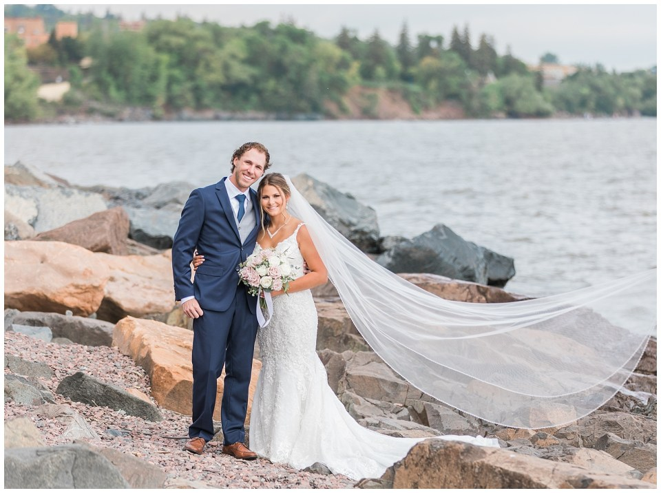 Kirsten Barbara Photography - a wedding photographer in Duluth, Minnesota - photographed the Koepke wedding.