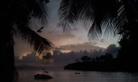 Sosua beach by night