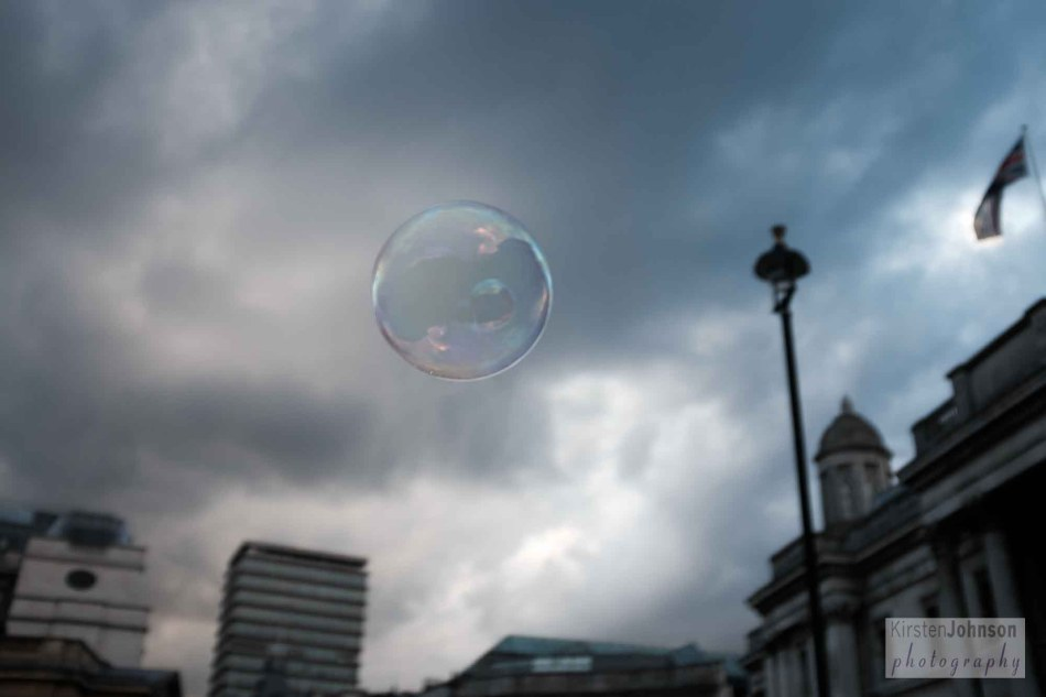 Bubble in the sky