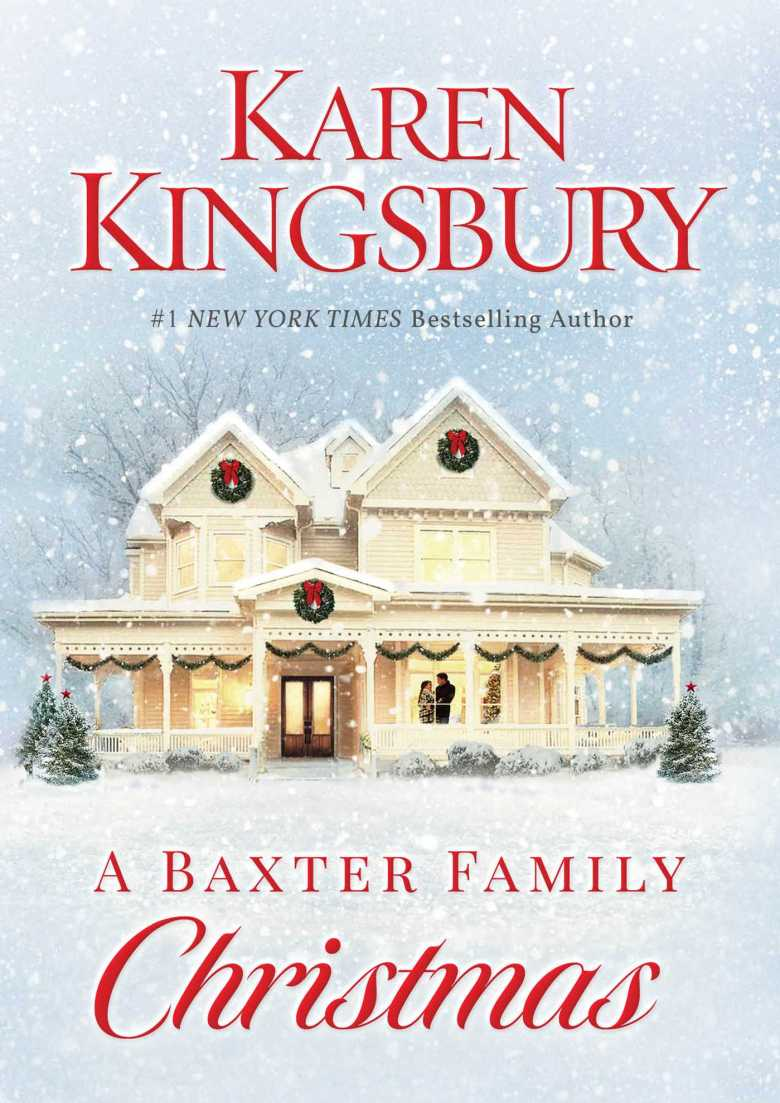 a baxter family christmas, karen kingsbury, book review, christmas book