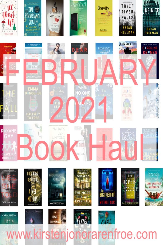February 2021 Book Haul, Book Haul, Kindle, Kindle Paperwhite, Amazon Kindle Books, Haul, Reading, Books, Cozy, Hygge, Read, Kirsten Jonora Renfroe, February 2021 Book Haul, Books