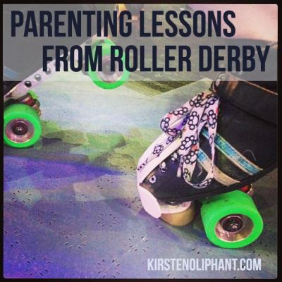 Saturday Morning Flashback: Learning Parenting Lessons from Roller Derby