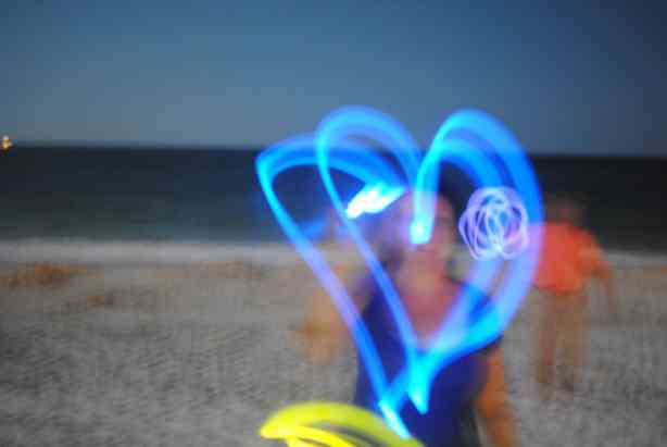 How to take glow stick photos with a DSLR.