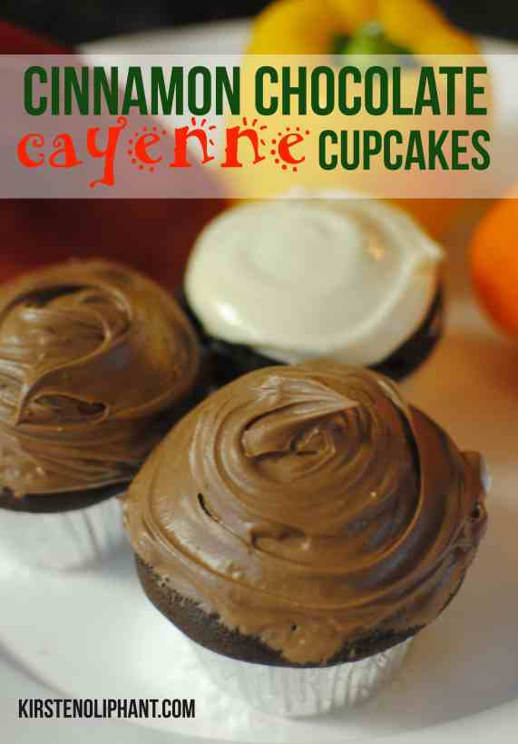 A classic cupcake with a spicy kick.
