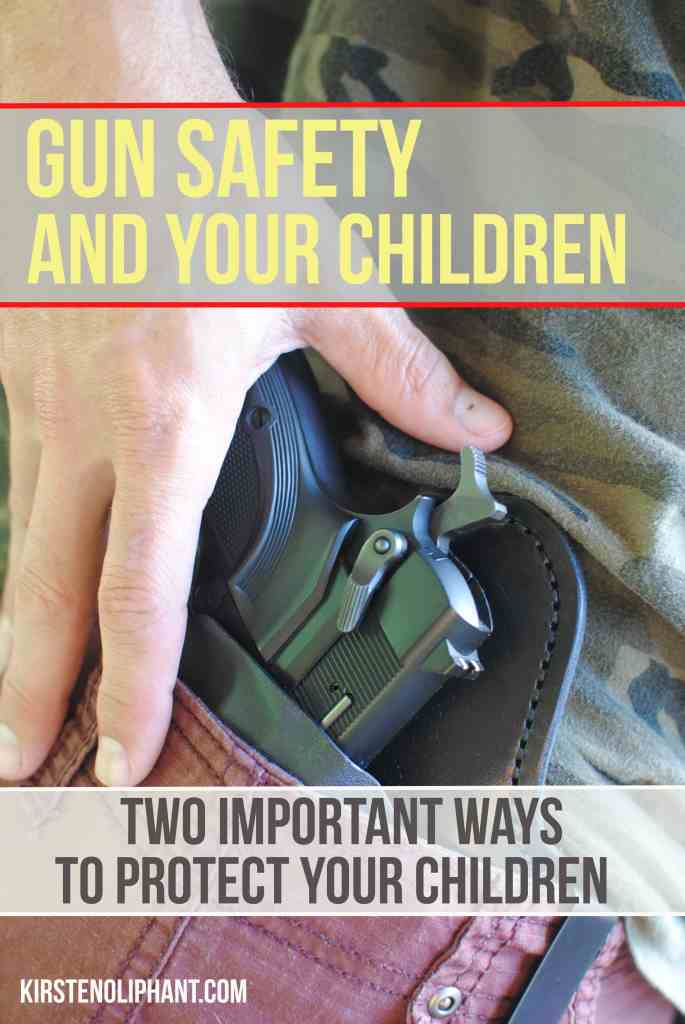 Two basic but important gun safety tips to protect your kids.