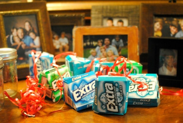 Gum is a great stocking stuffer, but is a present that can be used lots of ways. #shop