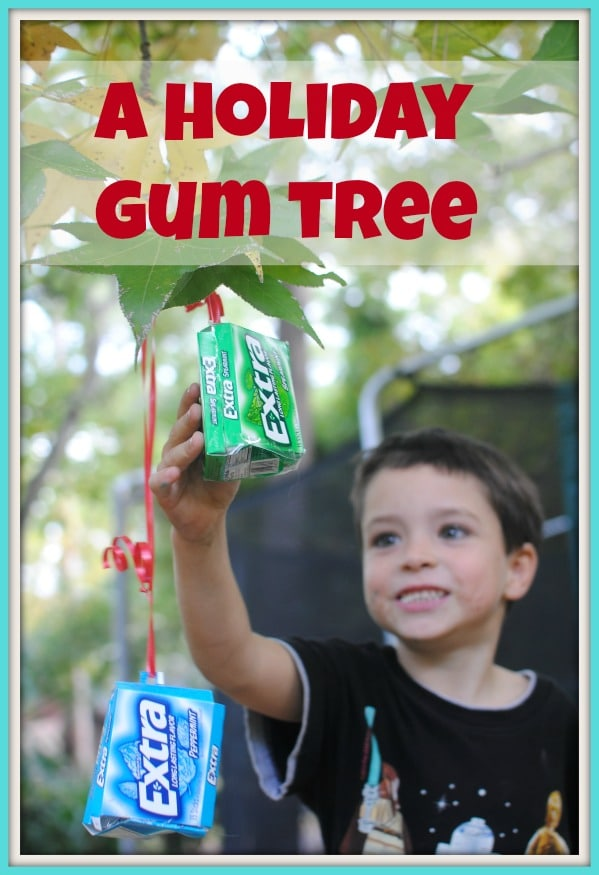 A great holiday (or anytime) idea with kids: a gum tree! #shop
