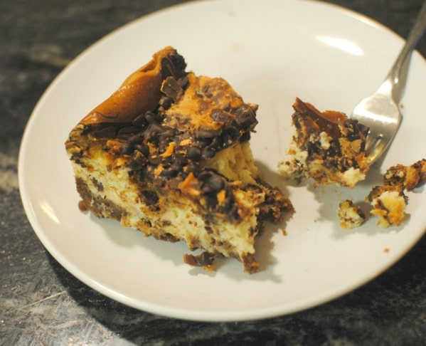 Going, going, GONE! Butterfinger Cheesecake. #thatnewcrush #cbias #shop