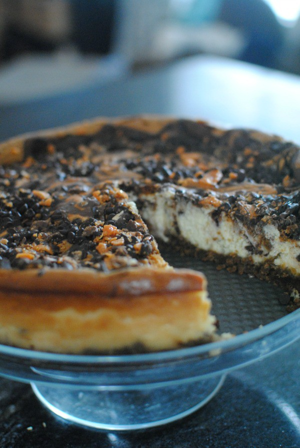 A classic cheesecake with the creamy crunch of Butterfinger. #thatnewcrush #cbias #shop