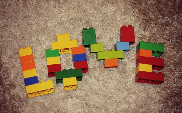 Love and legos.