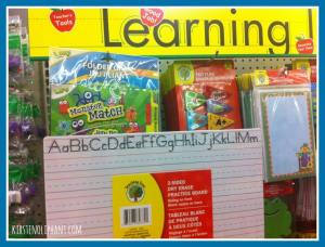 Learning Activities- Dollar Store Boredom Busters.