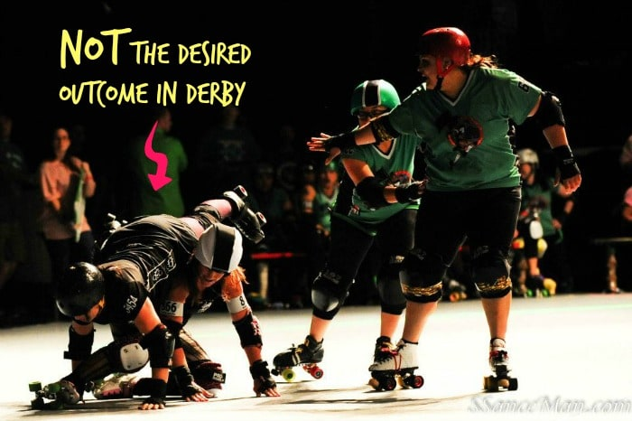 Life Lessons from Coaching Roller Derby: You can't always control the outcome.