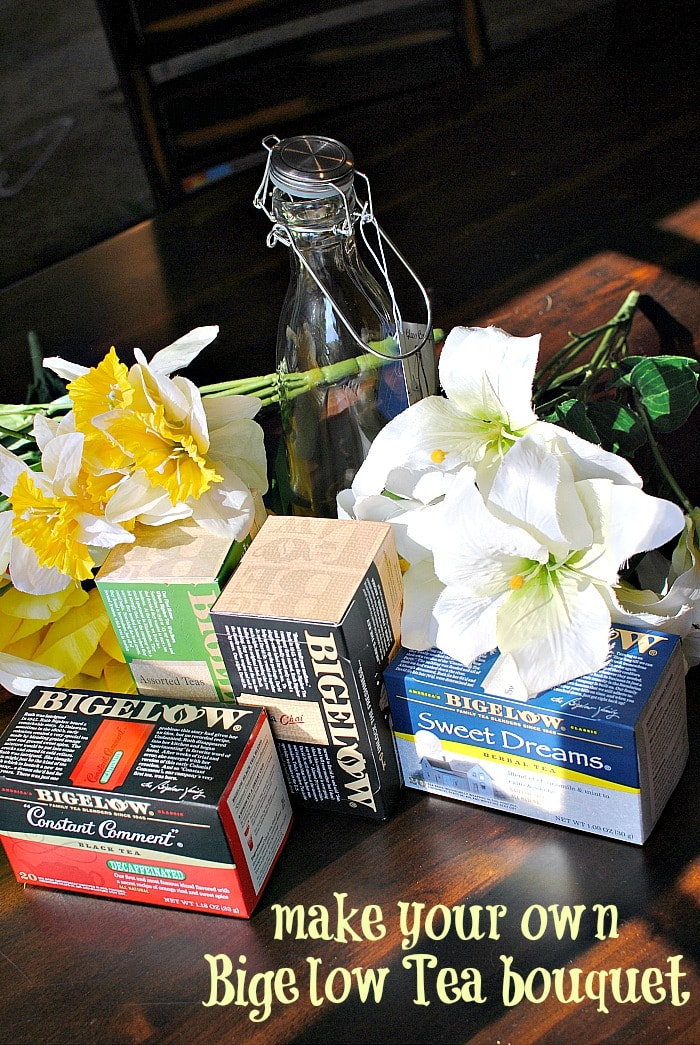 Make your own Mother's Day Bigelow Tea bouquet! #AmericasTea #shop