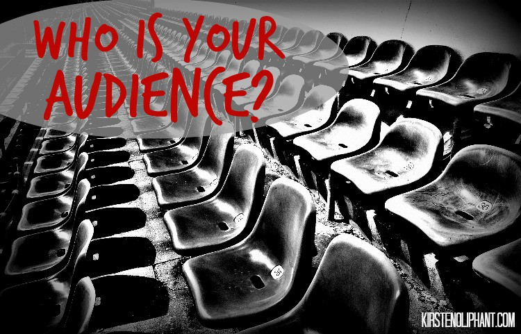 When blogging, how can you write for your audience? Should you?  #notsosmallstories