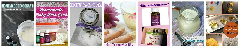 Try these homemade beauty products and toiletries with essential oils.