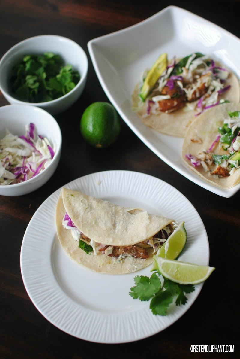 Try these easy fish tacos