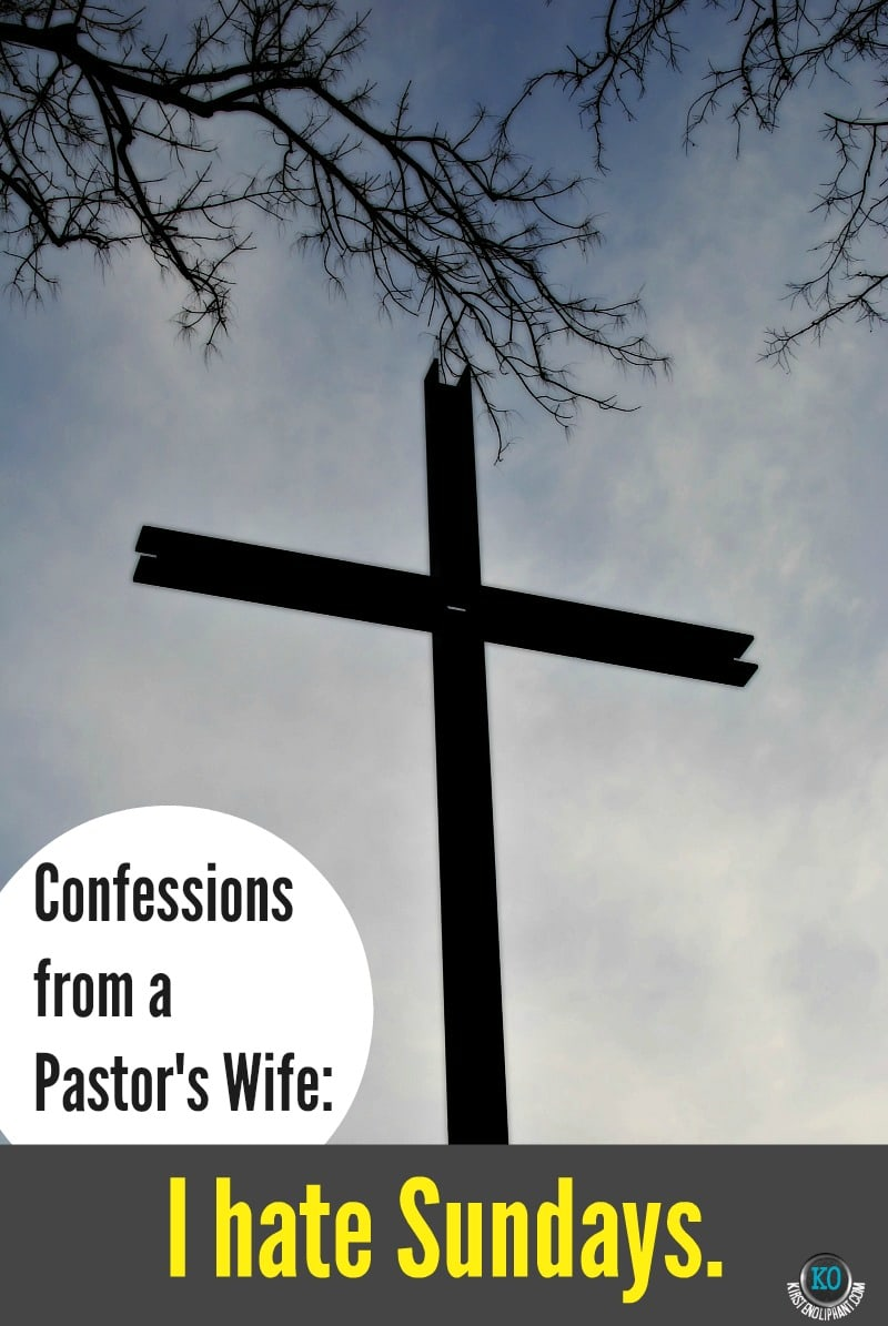 confessions from a pastor's wife