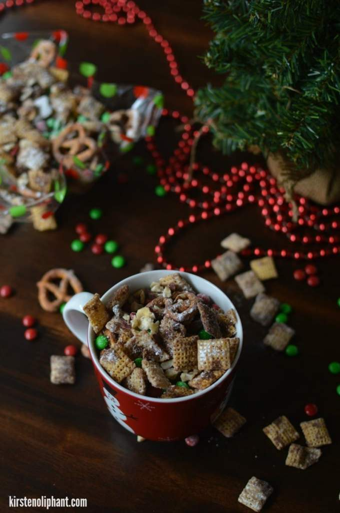Christmas Chex Mix: easy and delicious with hints of holiday spices!