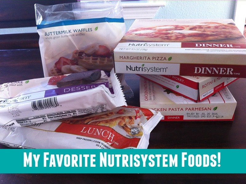 The best foods to order from Nutrisystem.