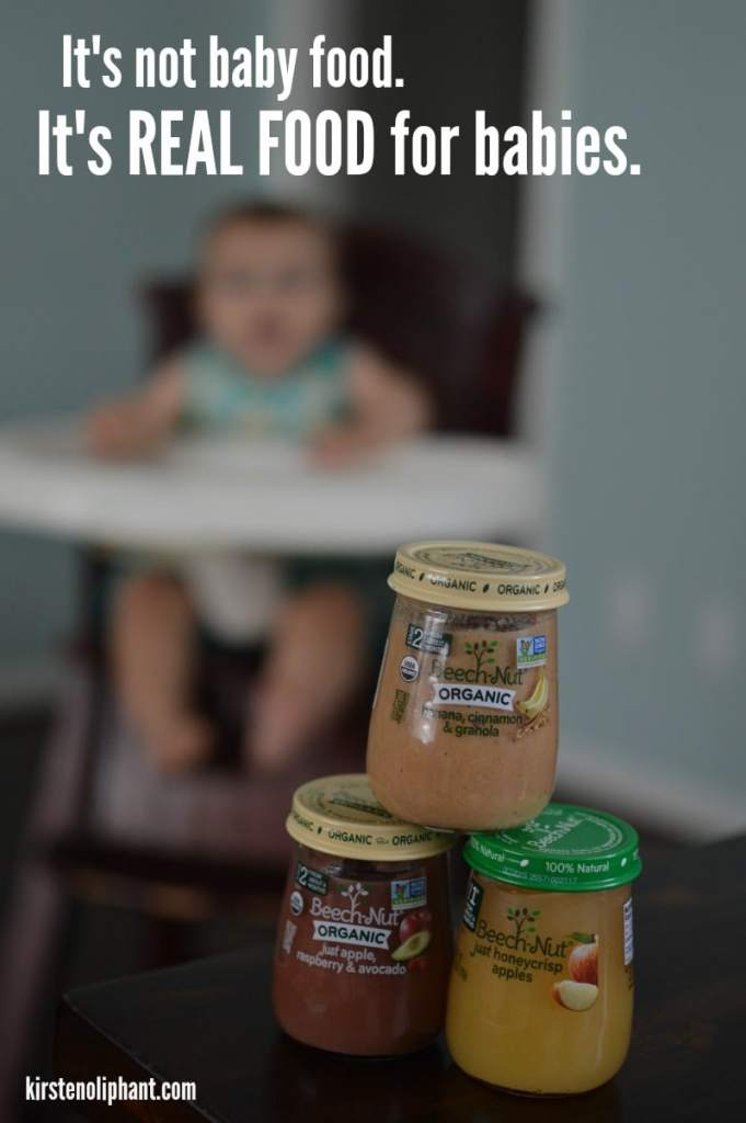 Simple ingredients, simple food. #ad #IC #RealFoodForBabies
