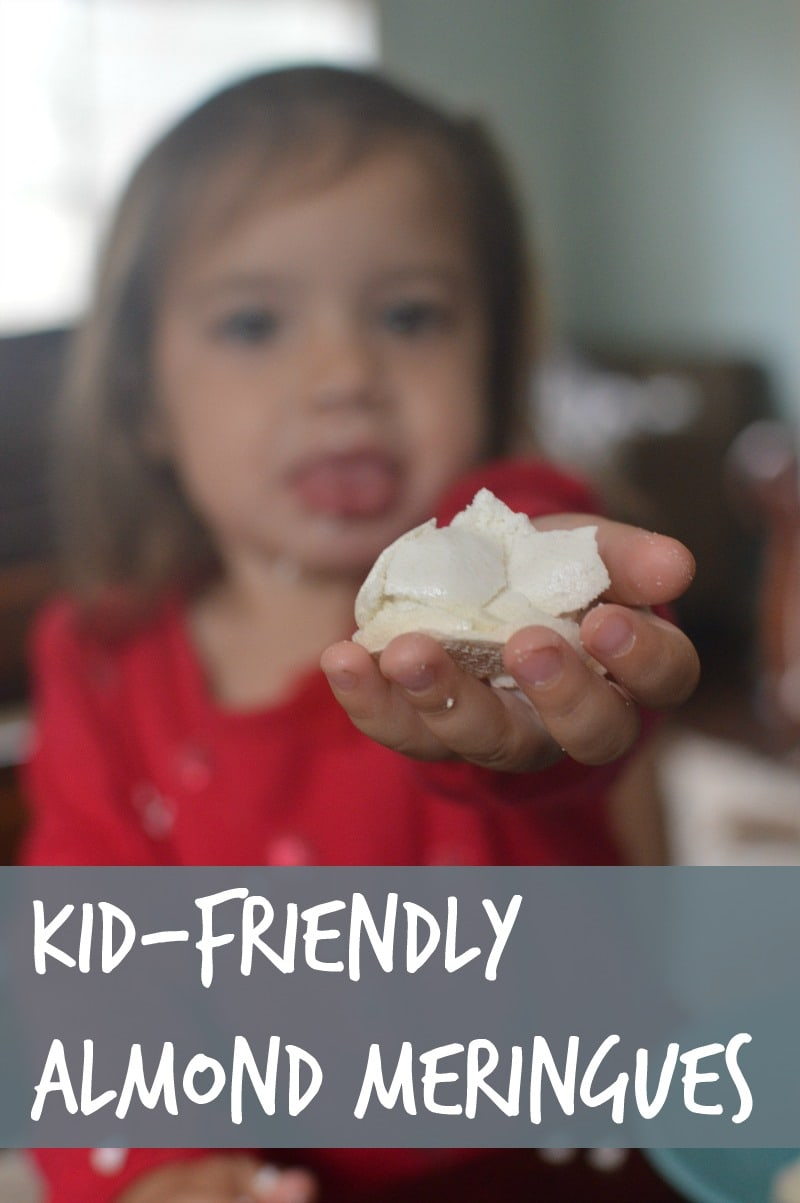 almond meringues kid friendly