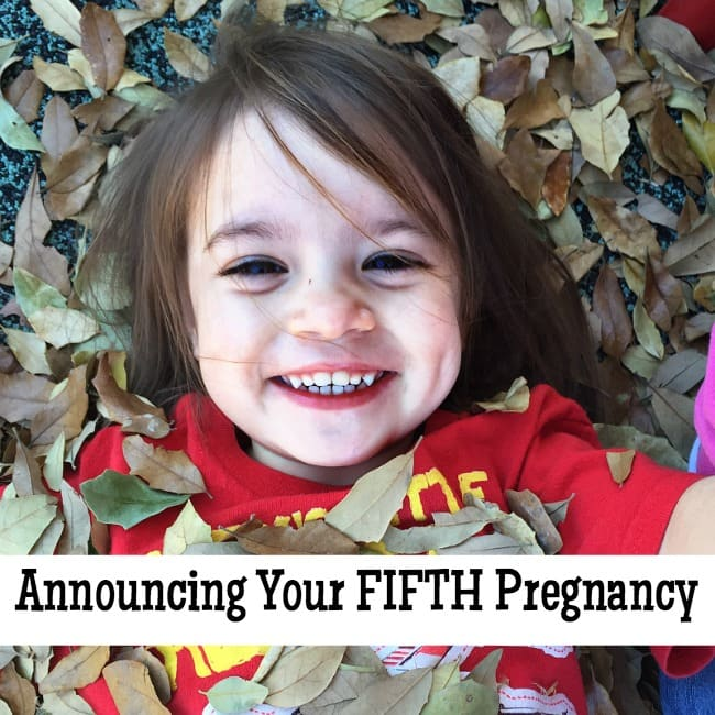 By the Fifth Pregnancy