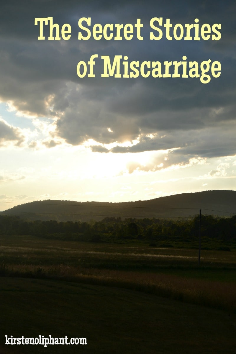 Only 5% of women share their miscarriage stories. Why? Guilt, fear, sadness. Let's listen to these stories.
