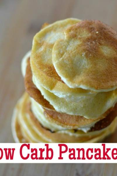 Low Carb Pancakes (Two Ingredients & Gluten Free!)