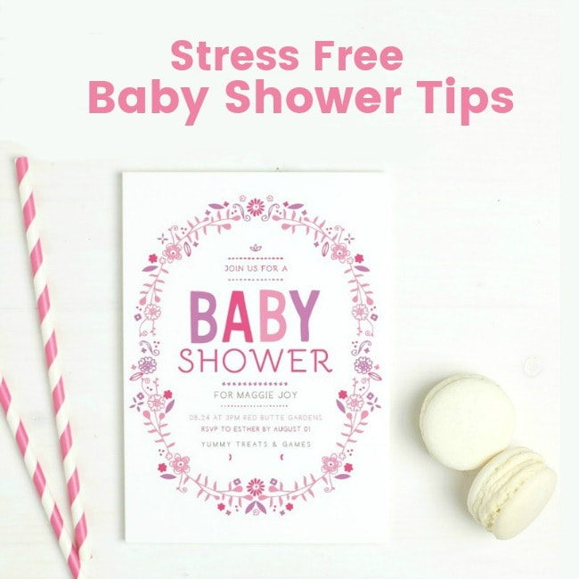 Baby Shower Tips to Keep You Stress-Free