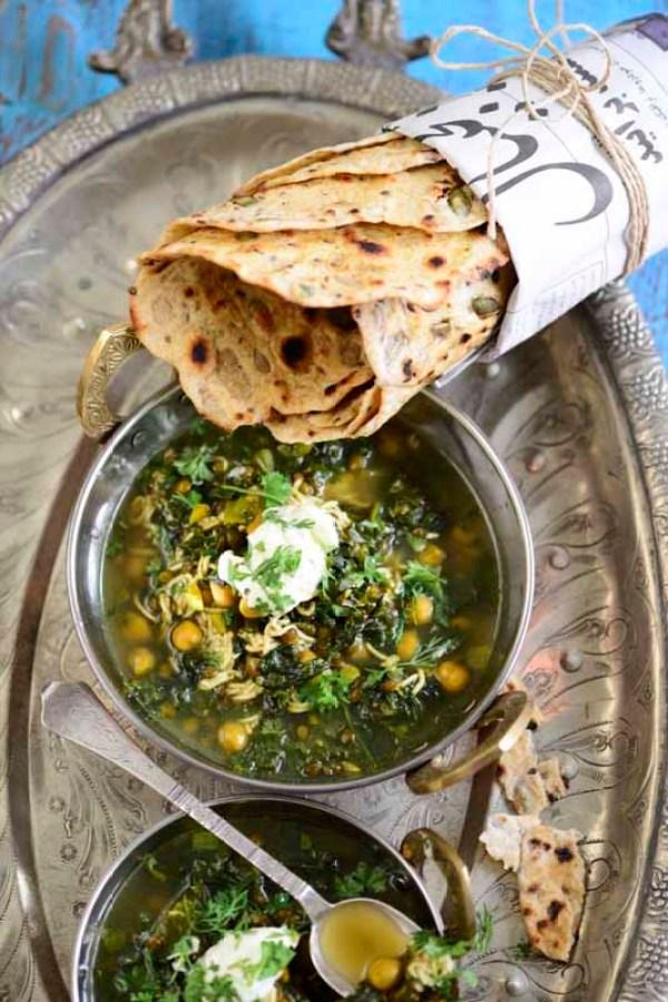 iransk suppe m fladbrød