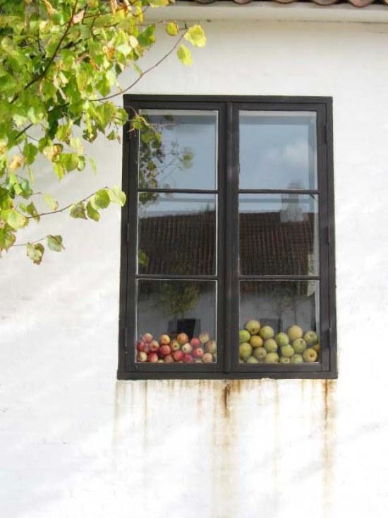 æbler i vindue