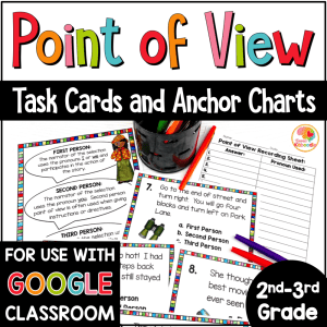Point of View Task Cards COVER
