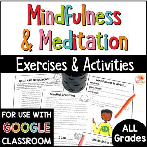 Mindfulness Activities and Meditation Scripts for Kids COVER