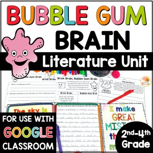 Bubble Gum Brain Activities COVER