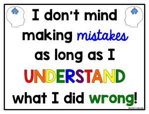Help students shift their mindset using reframing and positive affirmations