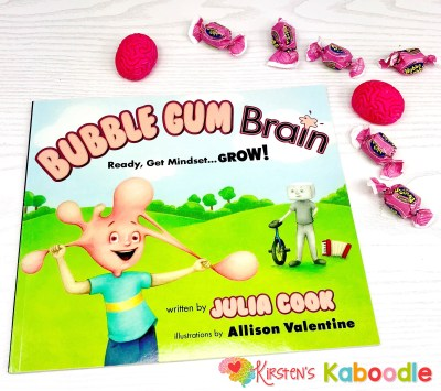 Teach your students about the malleability of the brain using Julia Cook's Bubble Gum Brain. It's a great picture book to kick off a discussion about growth and fixed mindset!